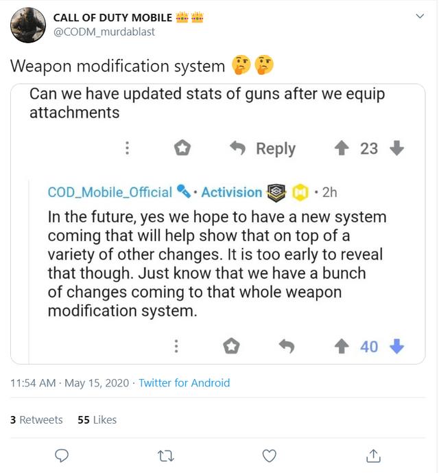 COD Mobile Season 7 weapon modification