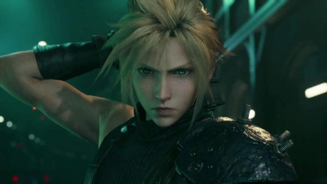 Here are all of Cloud's weapons