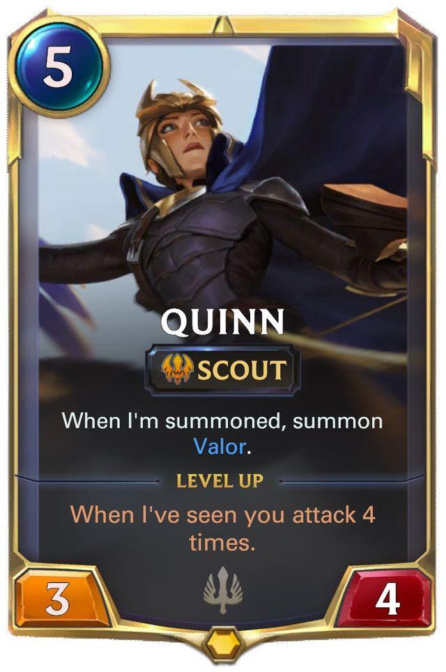 Quinn's Standard Card