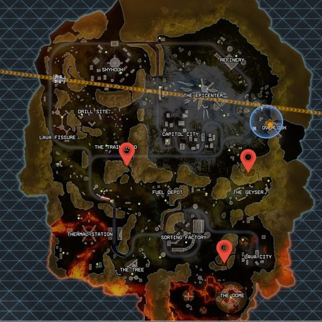 Here are the vault locations, but you'll still need a key.