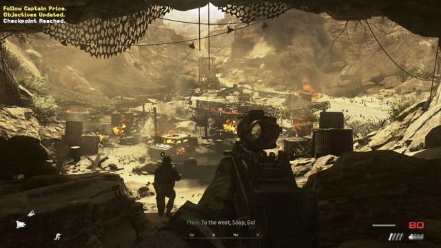 MW2 Campaign Remastered Just Like Old Times Complete Walkthrough