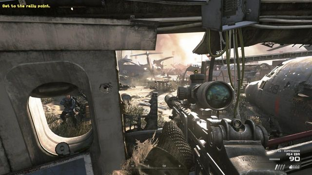 MW2 campaign remastered the enemy of my enemy walkthrough