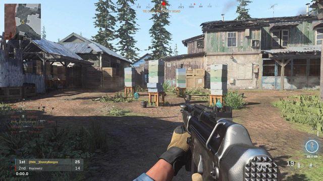 Modern Warfare Hovec Sawmill callouts