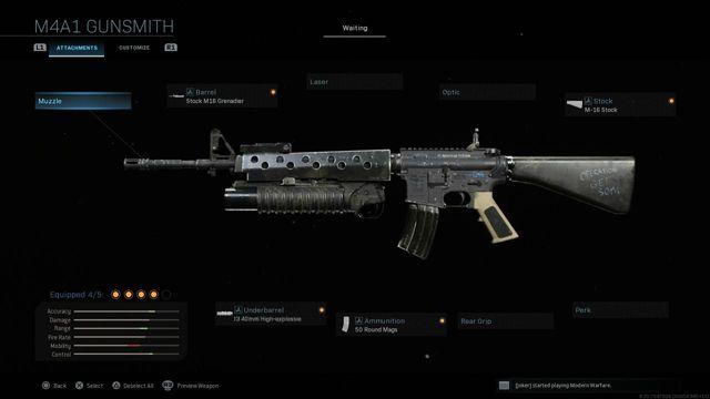 Modern Warfare M16