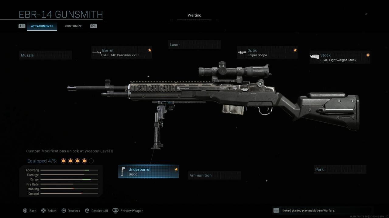 Modern Warfare M21