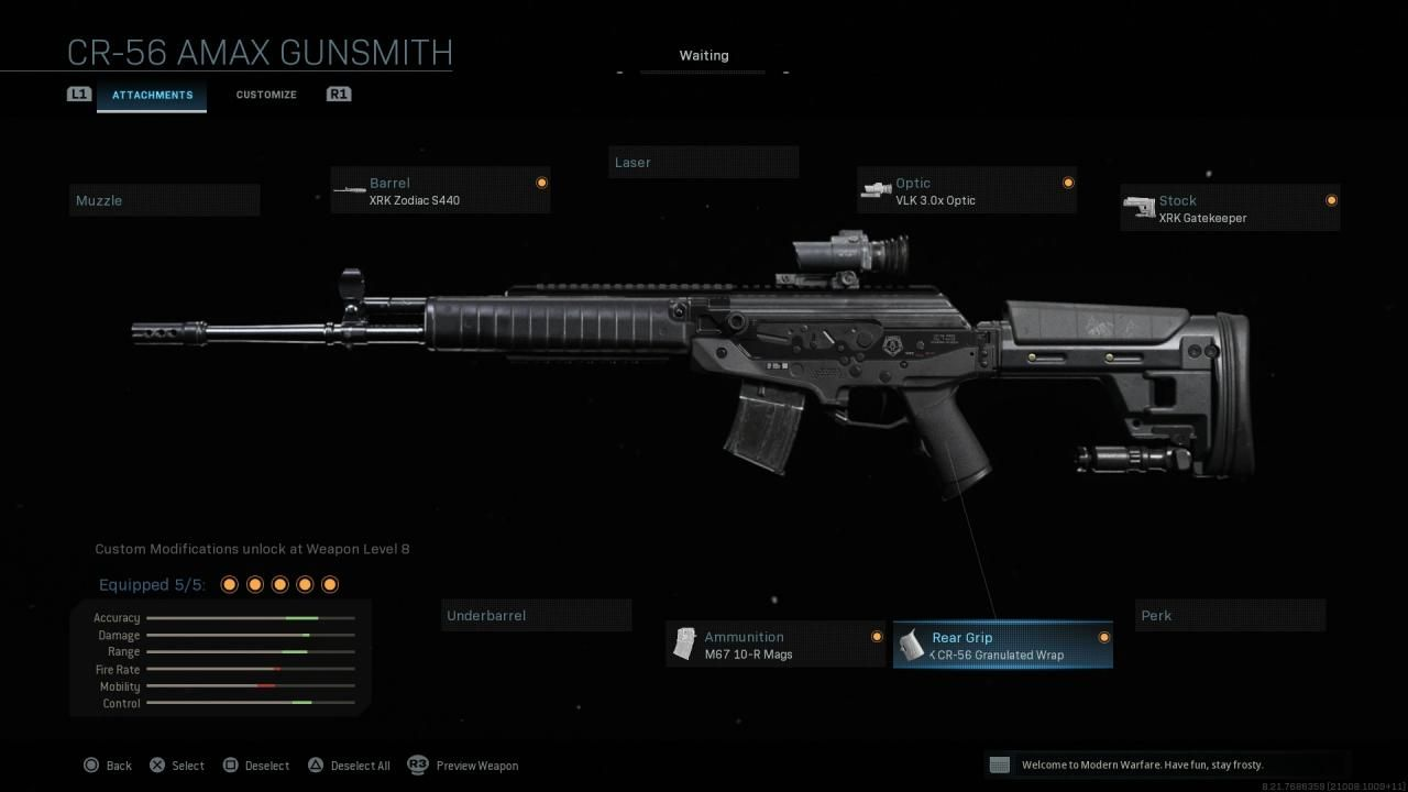 CR-56 Amax best attachments