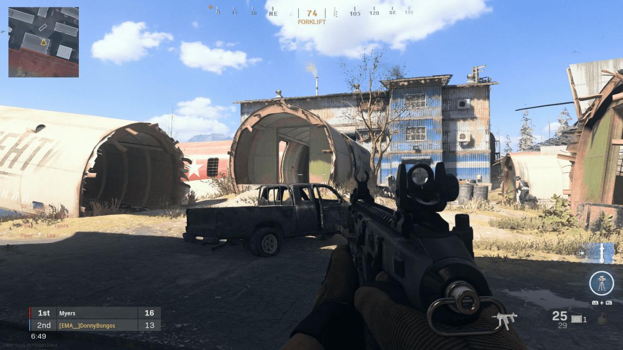 Modern Warfare Scrapyard map guide