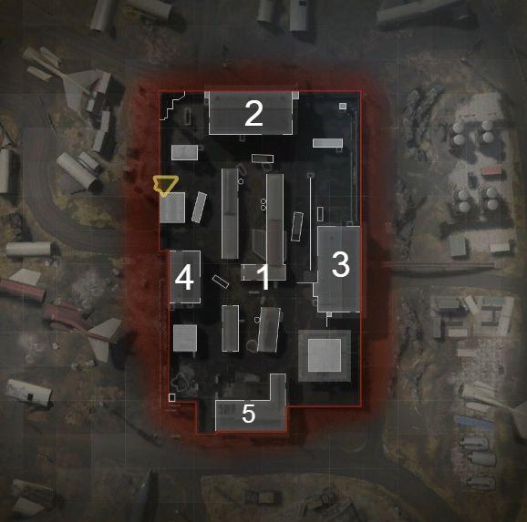 Modern Warfare Scrapyard Hardpoint rotations