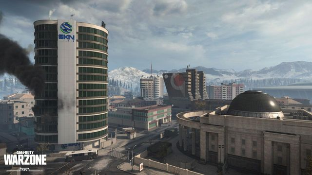 Warzone City Map