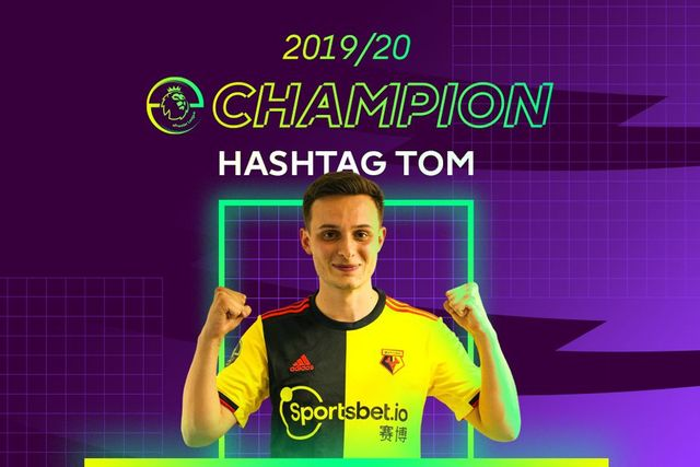 Congratulations to Hashtag Tom!