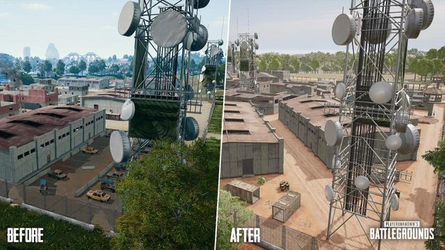 Sanhok looks like an almost entirely different map