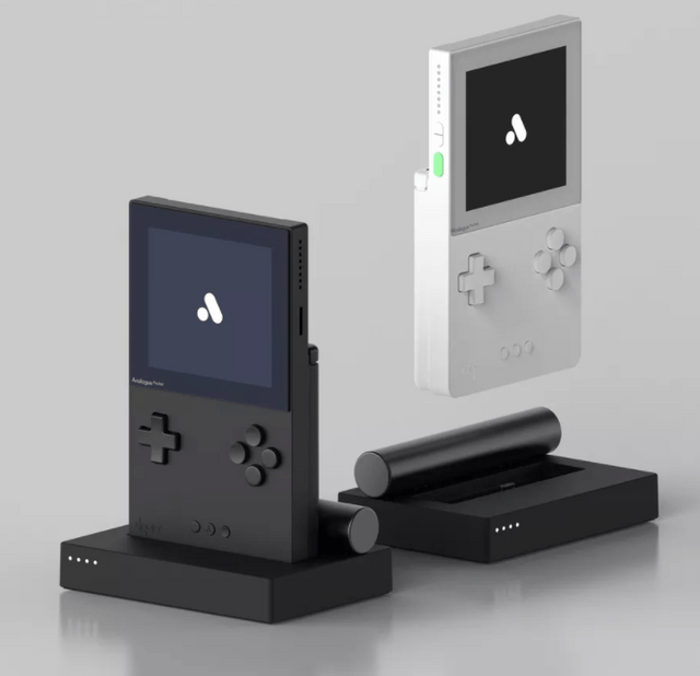 The console comes in both black and white variants (Image courtesy of Analogue)