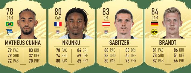 cams - FIFA 21 – FUT Ultimate Team, i giocatori della Bundesliga più economici per iniziare