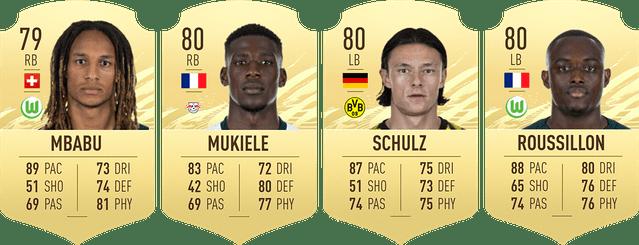 full backs - FIFA 21 – FUT Ultimate Team, i giocatori della Bundesliga più economici per iniziare