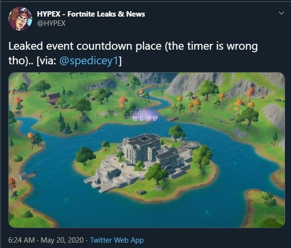 Fortnite Chapter 2 Season 3 Doomsday Event Countdown Details