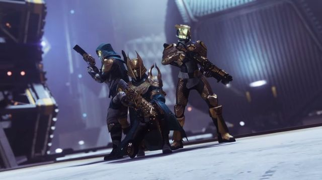 Gold and blue? Trials is back, baby.