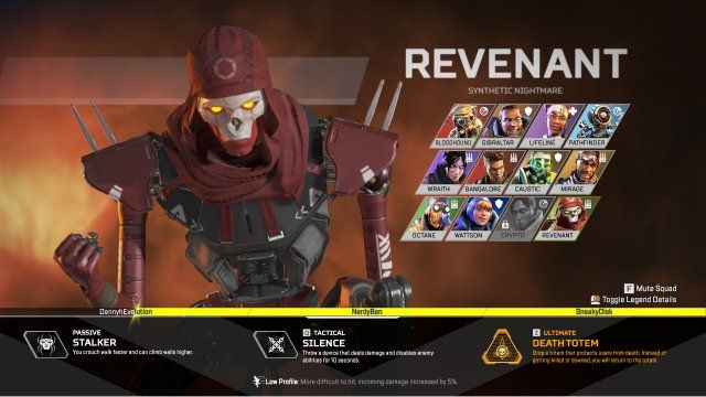 revenant apex legends
