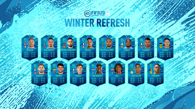 fifa 20 winter refresh team