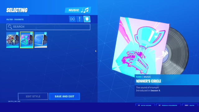 Fortnite leaked music. Image courtesy of HYPEX.