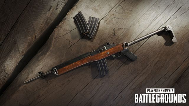 PUBG Mobile weapons tier list - the Mini14 has some situational use. Image courtesy of Future Game Releases.