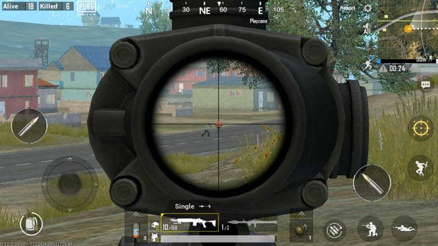 PUBG Mobile tips and tricks scopes and attachments. Image courtesy of Digit.