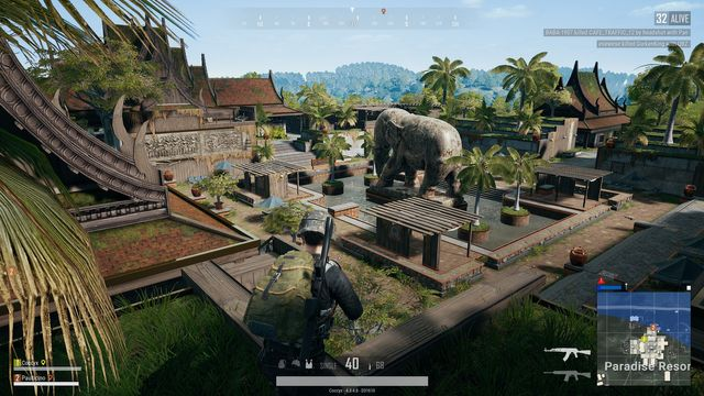 Where to land and loot in Sanhok PUBG Season 7. Image courtesy of Rock Paper Shotgun.