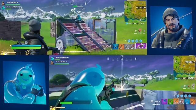 Fortnite's Split Screen is a great way to play with friends