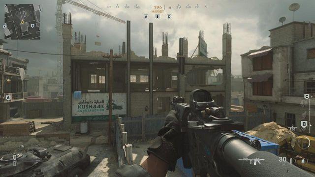 Backlot Modern Warfare best spots