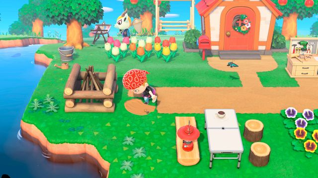 Animal Crossing Garden Picking