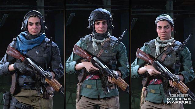 Farah Operator Modern Warfare