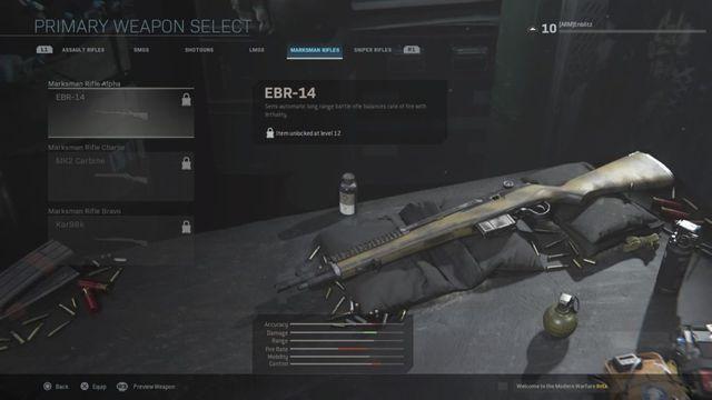 EBR-14 Modern Warfare