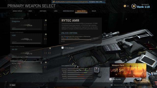 Rytec AMR Sniper