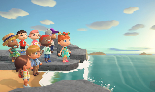 animal crossing new horizons wallpaper