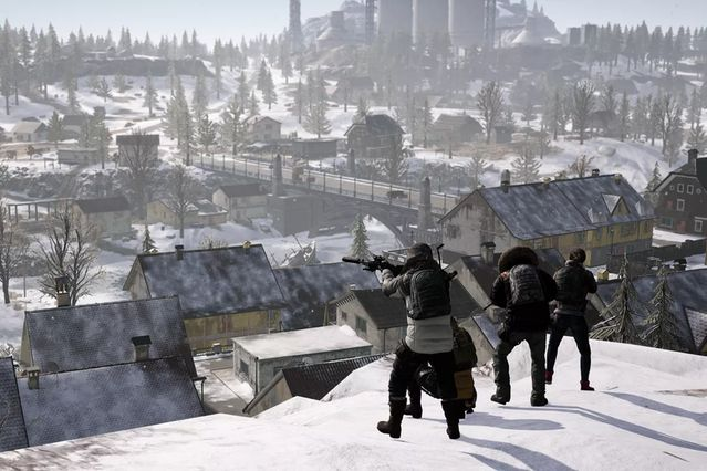 Where to land and loot in Vikendi PUBG Season 7. IMage courtesy of Polygon.