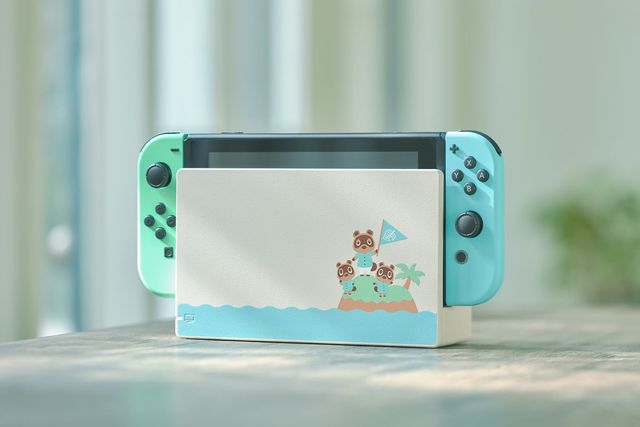 Animal Crossing new horizons Switch theme