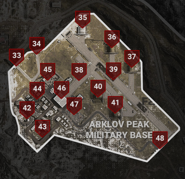 COD Warzone Military Base