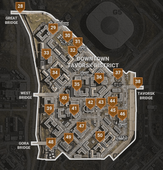 Call Of Duty Warzone City Of Verdansk Port Location Guide Best